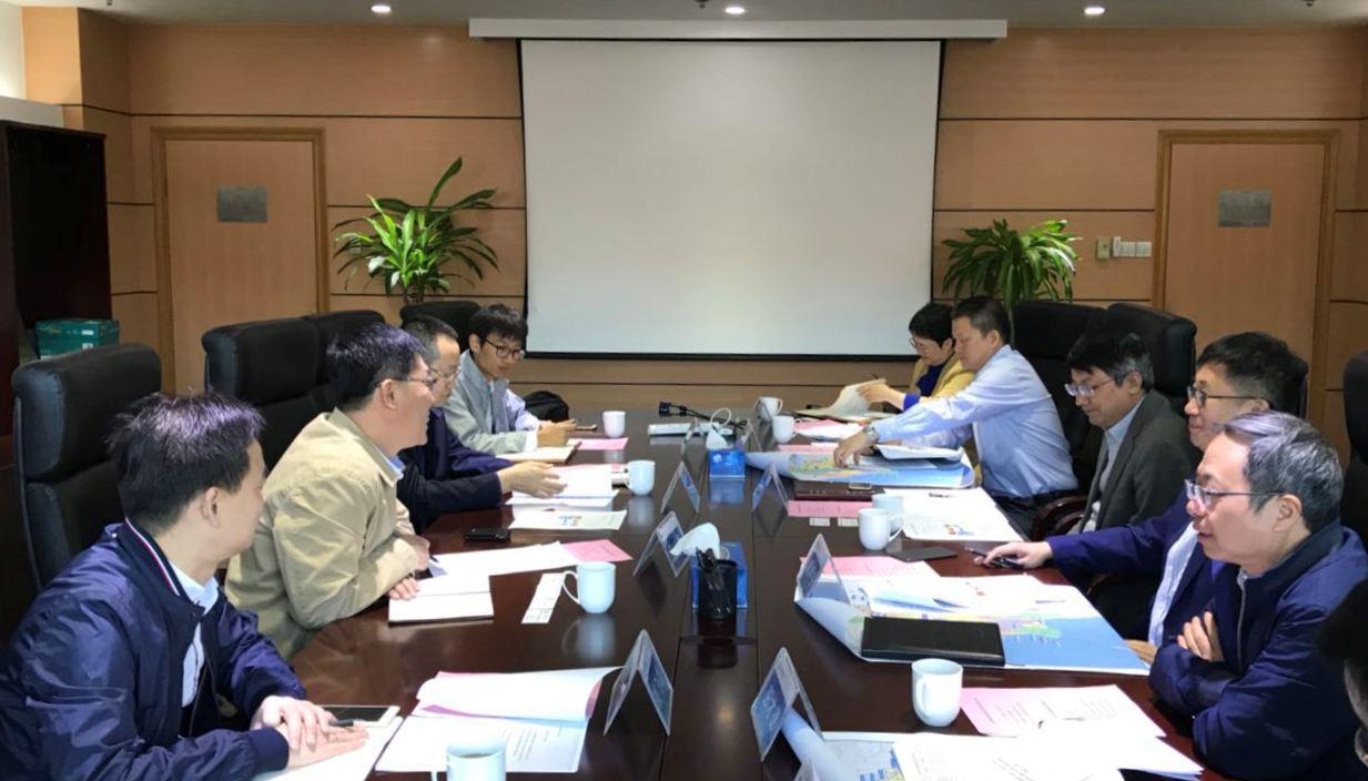 郑声安院长会见三峡国际能源投资集团有限公司王禹董事长一行